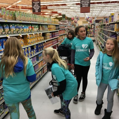 Shopping for Food Pantry